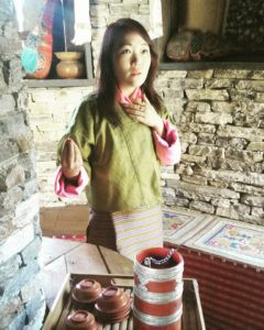 bhutan woman blurb marketing blog goa