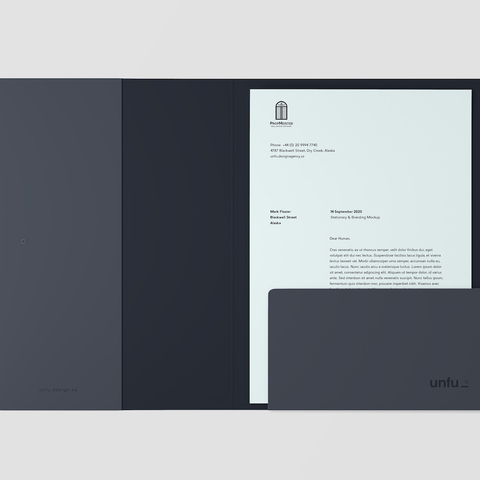 Folder Mockup for Propmeister by ArtBox