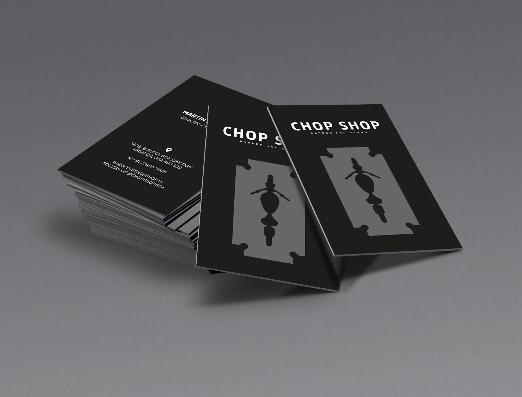 Chop Shop Visiting card