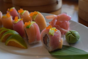 sushi at Tamari panjim