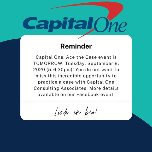 Capital One: Ace the Case Interview Workshop