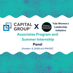 Capital Group: Associates Program and Summer Internship Panel