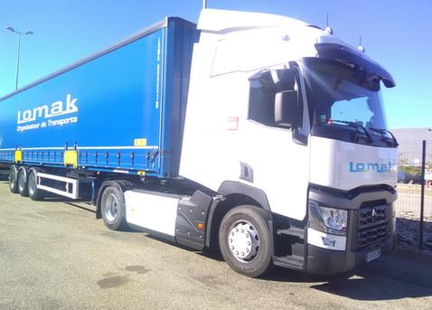 transport routier de marchandises lomak.