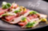 bij5, naaldwijk, gerecht, diner, kaart, dinerkaart, menu, kaart, vitello, tonato