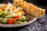 bij5, naaldwijk, restaurant, salade, gamba, lunch, gerecht, lunchgerecht, kaart, menu, menukaart