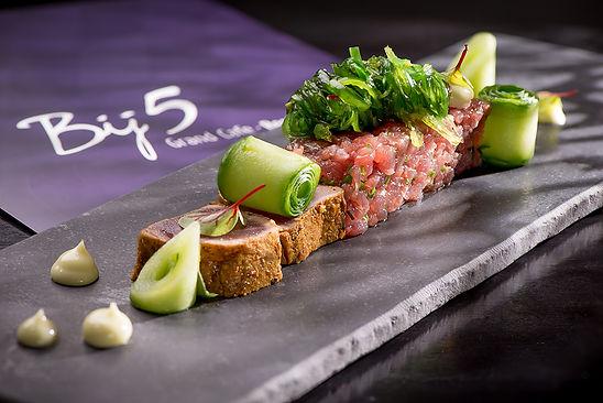 bij5, naaldwijk, tonijn, duo, menu, menukaart, diner, kaart, dinerkaart, gerecht