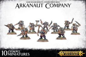Kharadron overlords arkanaut company