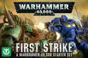 Warhammer 40k first strike starter set