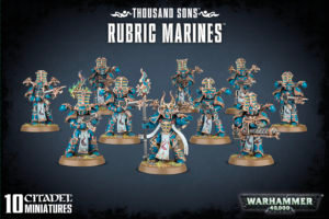Thousand sons rubic marines
