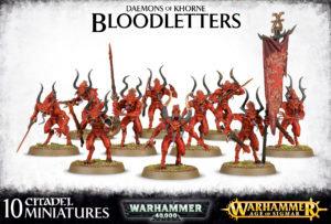 Khorne bloodletters