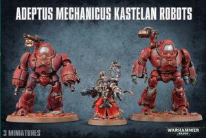 Mechanicum kastelan robots