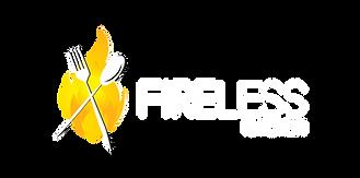 Fireless Kitchen - White Logo (Landscape