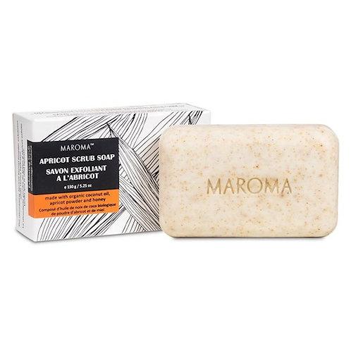 DL13181 Maroma Savon exfoliant à lábricot Comm. équitable