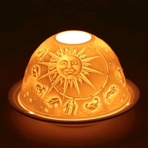 DLEclairage d'ambiance en porcelaine Zodiac