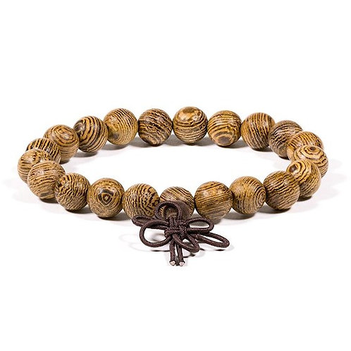 DL13101 Mala bracelet bois wengé élastique