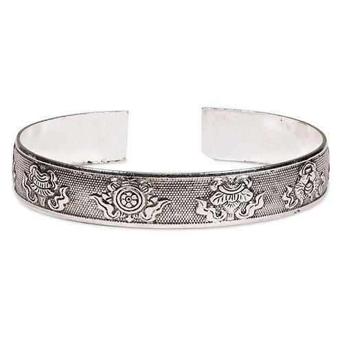 DL11330 Bracelet Miao 8 signes auspicieux