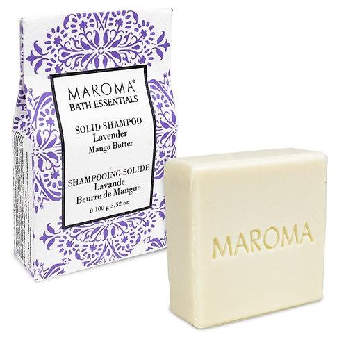 13157 Maroma Barre de shampoing solide Lavande