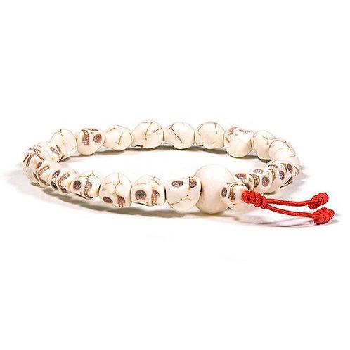 DL15657 Mala / Bracelet petits crânes