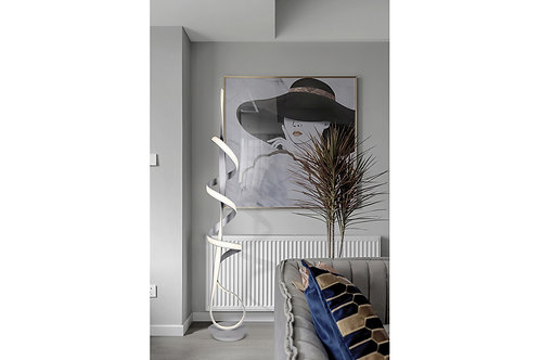 LCLV2038 LAMPADAIRE BOUCLE/SPIRALE
