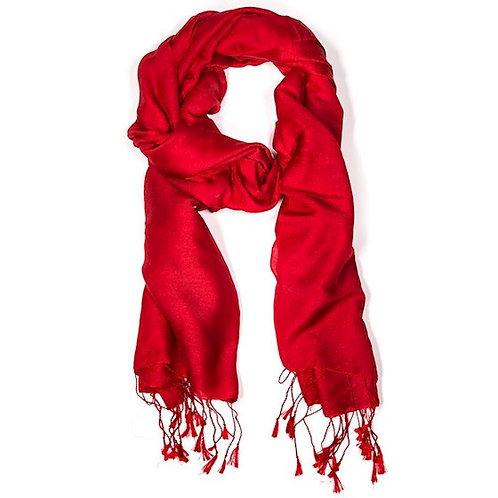 DL18002 Écharpe Chakra rouge