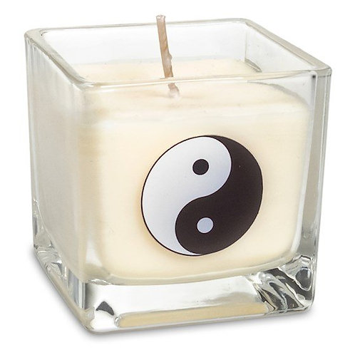 Bougie parfumée à la cire de colza - Yin Yang