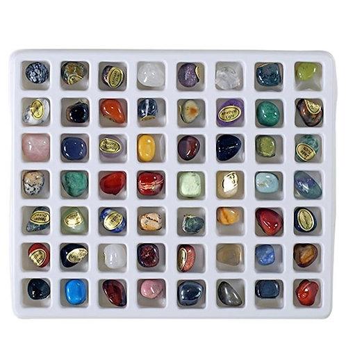 DL1817 Coffret cadeau 56 différentes pierres précieuses