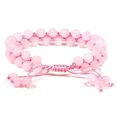 DL13110 Bracelet en Quartz Rose