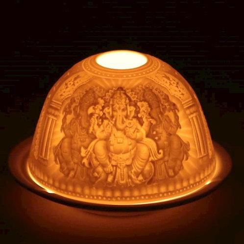 DLEclairage d'ambiance en porcelaine Ganesh