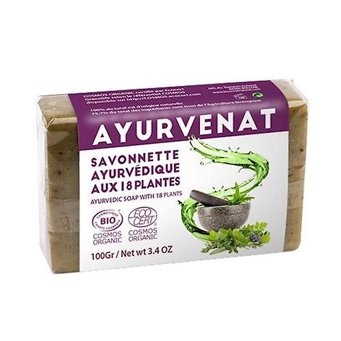 DLSavon Ayurvédique aux 18 herbes Bio