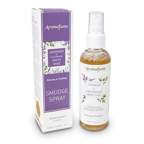DL17914 Spray smudge naturel Sauge Blanche et Lavande Aromafume