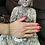 Thumbnail: DL13103 Bracelet Lave/perle élastique