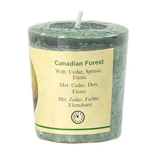 Bougie Chill out parfumée - Canadian forest