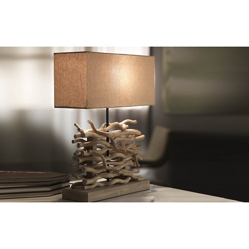 LAMPE A POSER NATURE/BOIS