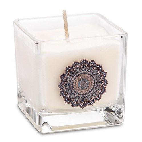 Bougie cire de colza écologique parfumée - Mandala
