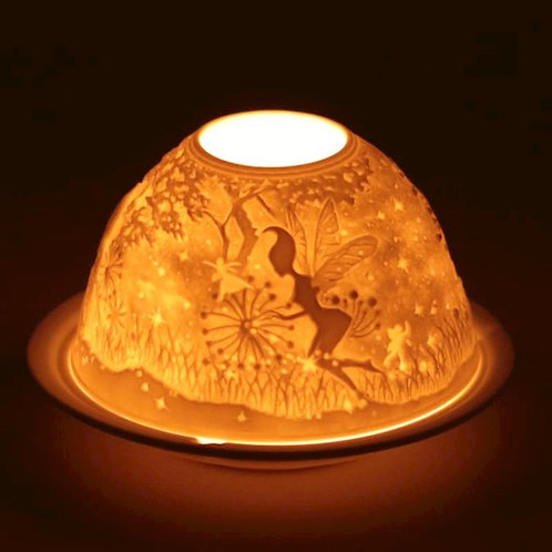 DLEclairage d'ambiance en porcelaine Elfes