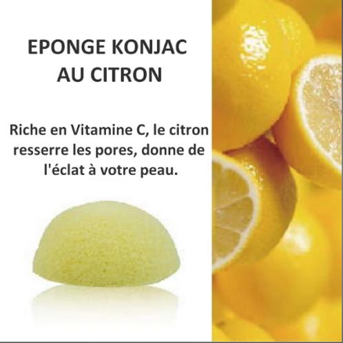 LC Eponge KONJAC au Citron