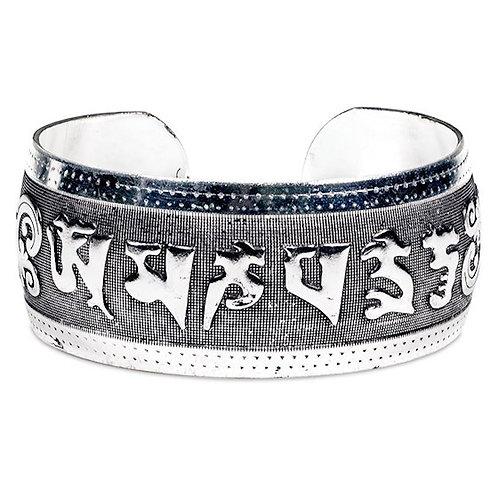 DL11502 Bracelet tribal Miao avec mantra OMPMH