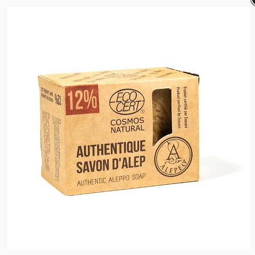 LCSavon d'Alep 12% huile laurier