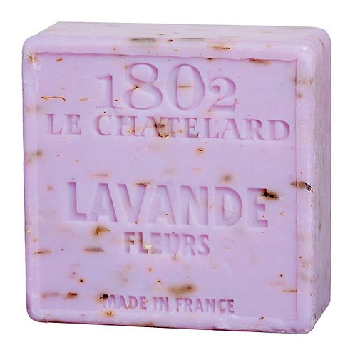 DL02553 Savon de Marseille naturel fleurs de Lavande