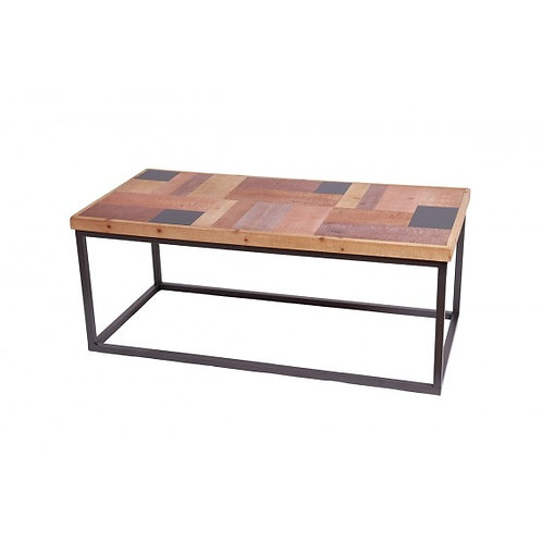 TABLE BASSE METAL & BOIS