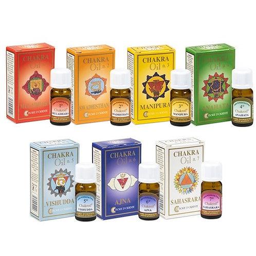 DLSet de 7 huiles essentielles des chakra