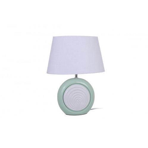 LAMPE OVALE VERT