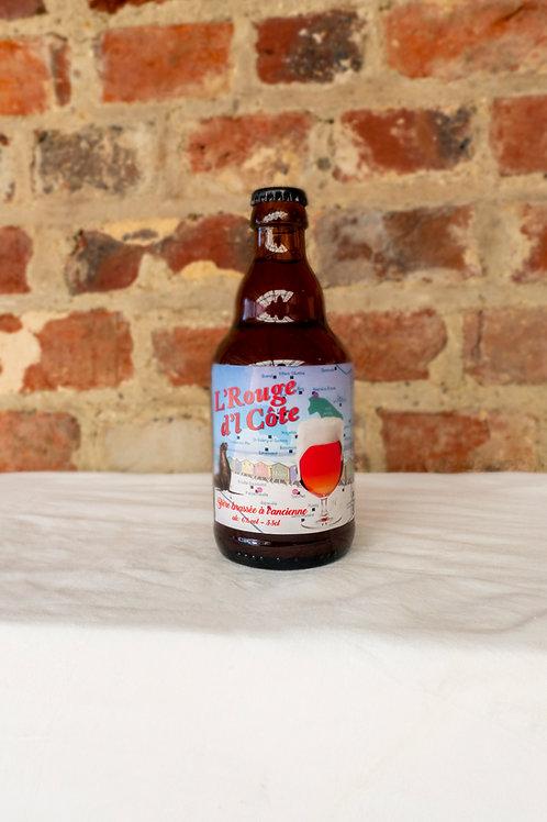 Bière rouge - L'Rouge d'l Côte 33 cl