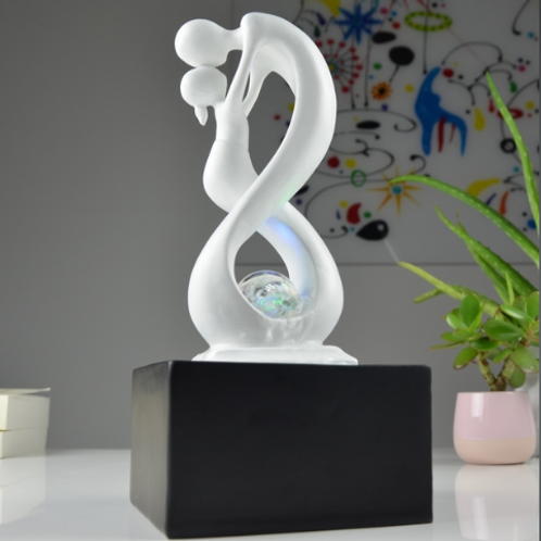 LC Fontaine Moderne Amor Blanc