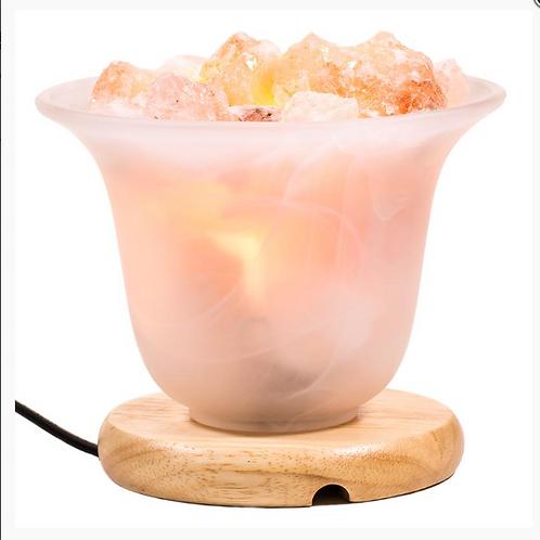 LCLampe cristaux de sel