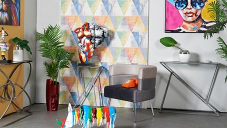 Ambiance chic, design & colorée