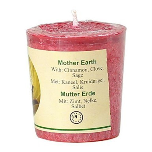 Bougie Chill out parfumée - Mother Earth Stéarine