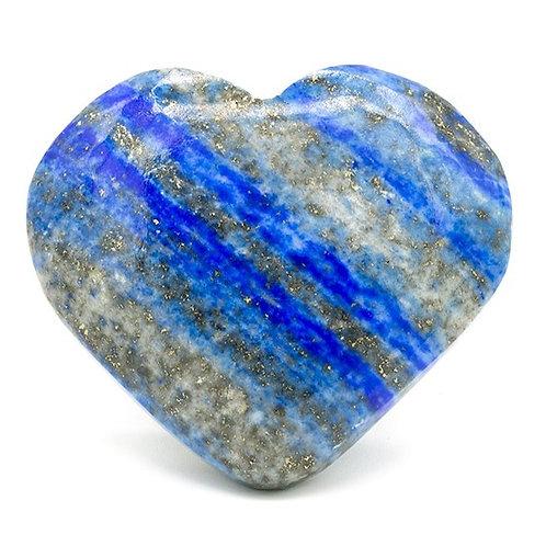 DL16447 Pierre de souci coeur Lapis lazuli