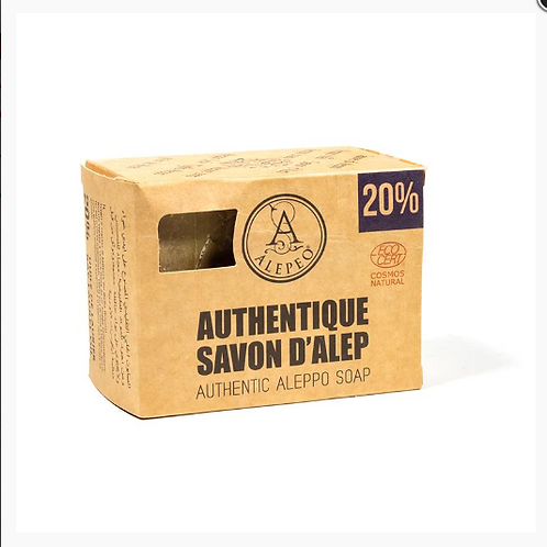 LCSavon d'Alep 20% huile laurier
