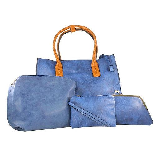 ensemble 4 sacs simili cuir